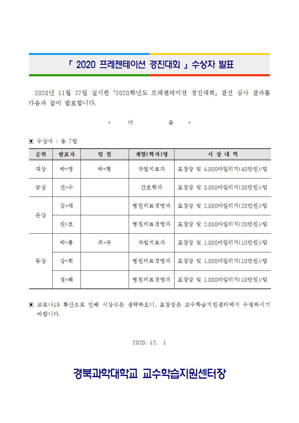 2020 프레젠테이션 경진대회 수상자 발표.png